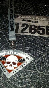 My first half marathon completed!